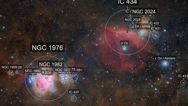 Orion nebulas