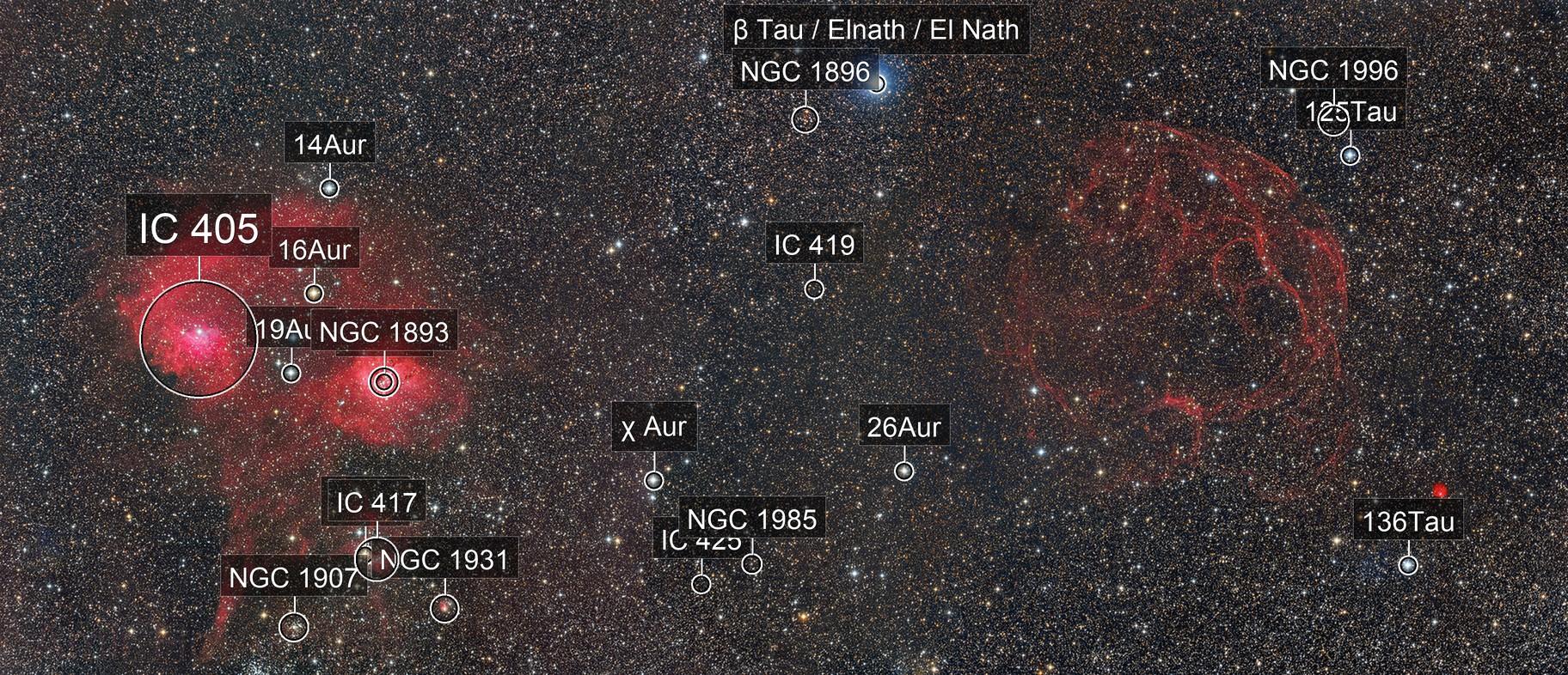 IC405-410 to SIMEIS 147