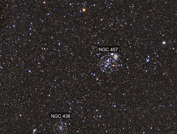 NGC 457 - ET Cluster