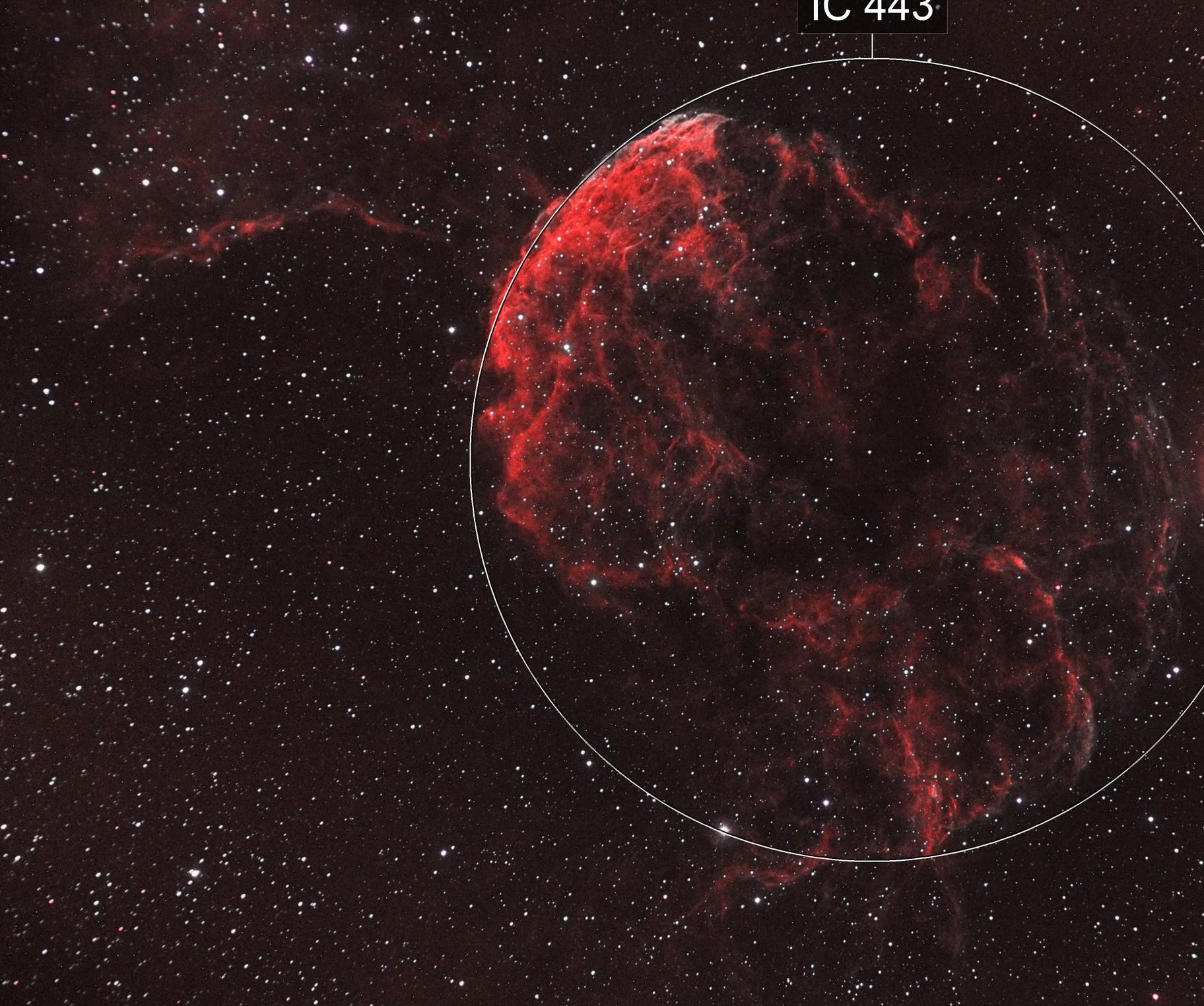 IC 443 - Jellyfish Nebula