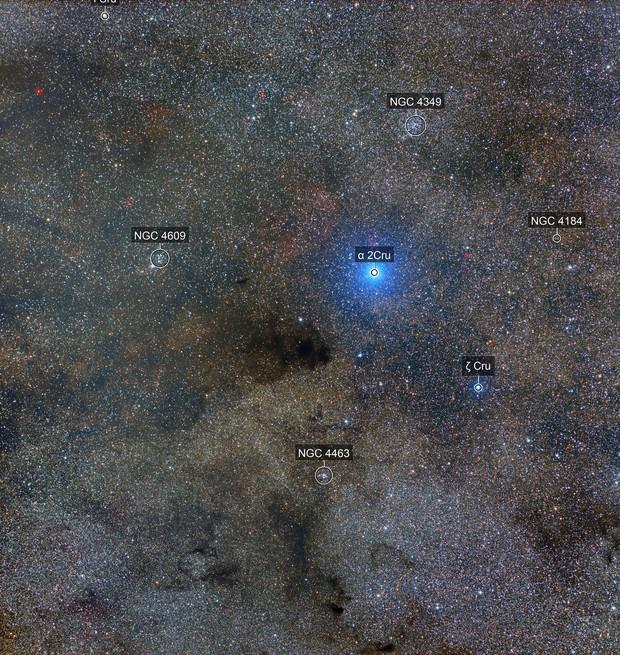 Coalsack Nebula, via telescope.live