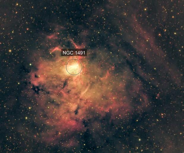 This nebula needs a name!