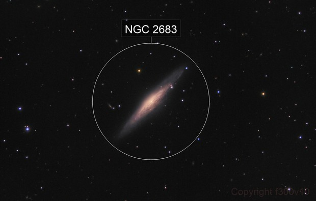 NGC 2683, the UFO galaxy