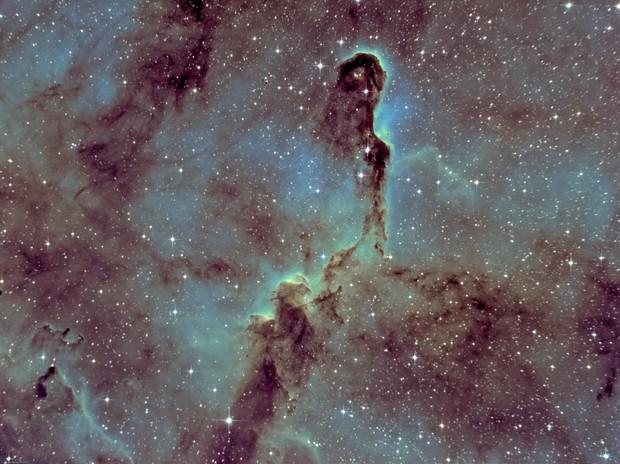 IC1396 - Elephant's Trunk Nebula (Ha-SHO)