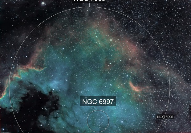 NGC7000 - The America Nebula (Ha-SHO)