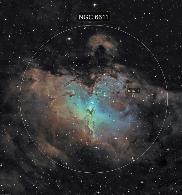 M16 - The Eagle Nebula (Ha-SHO)