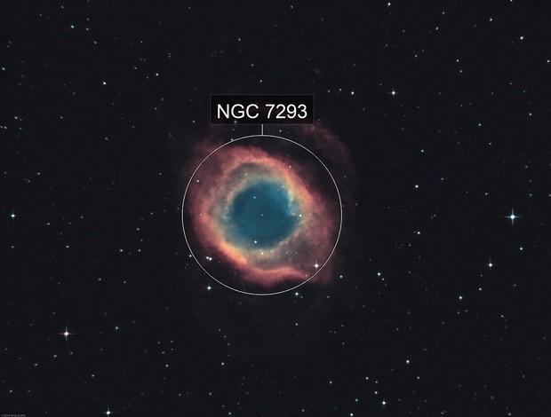 NGC 7293 - The Helix Nebula (Ha-HOO)