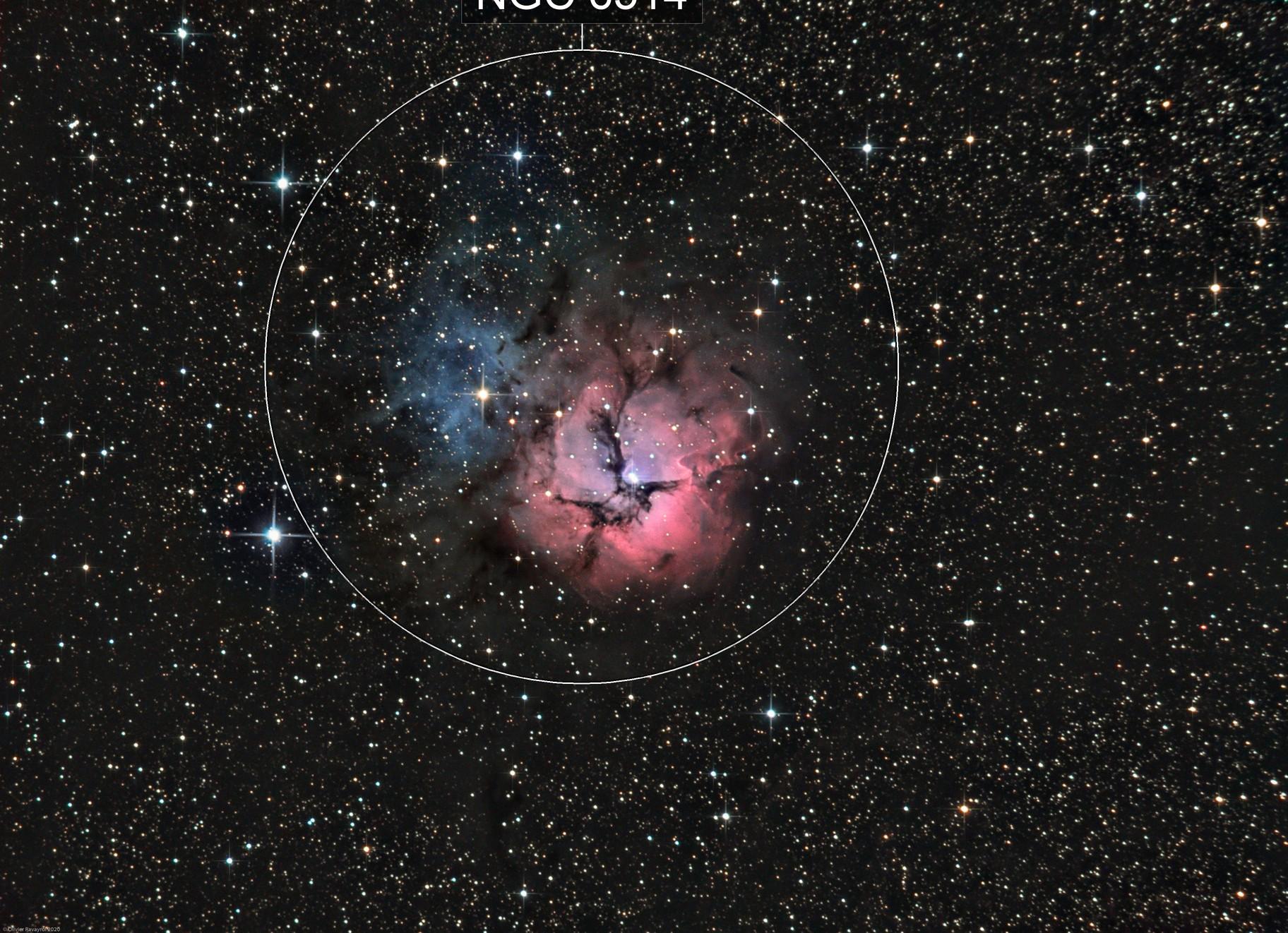The Trifid Nebula (M20)
