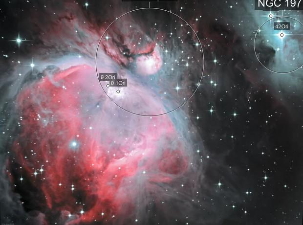 Great Orion Nebula (M42) - LHa-HGBO