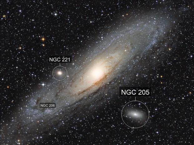 The Andromeda Galaxy (L-RGB) - M31