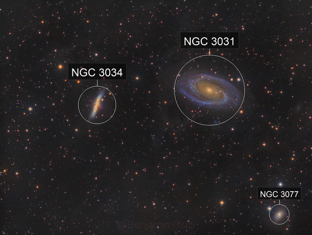 M81 & M82 with some IFN
