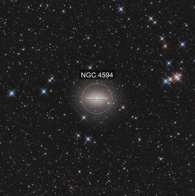 M104, The Sombrero Galaxy