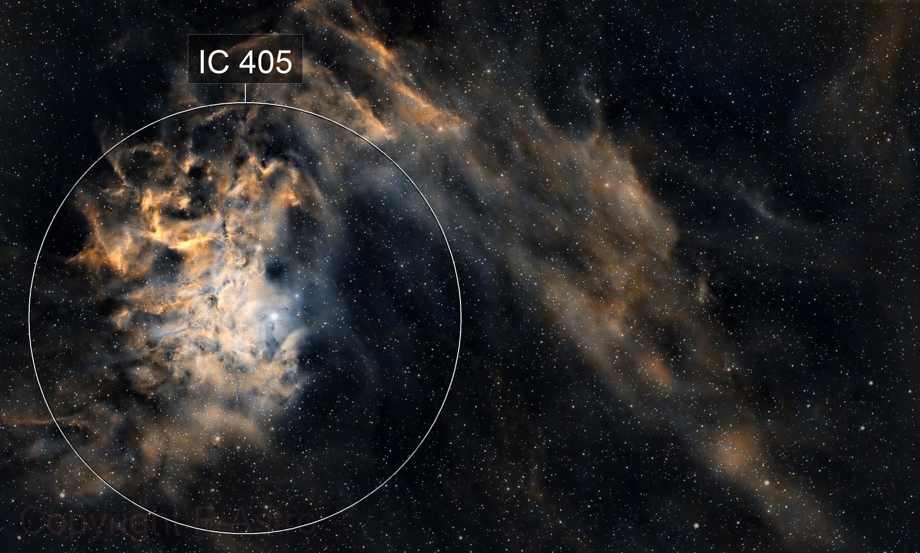 IC505 - The Flaming Star Nebula