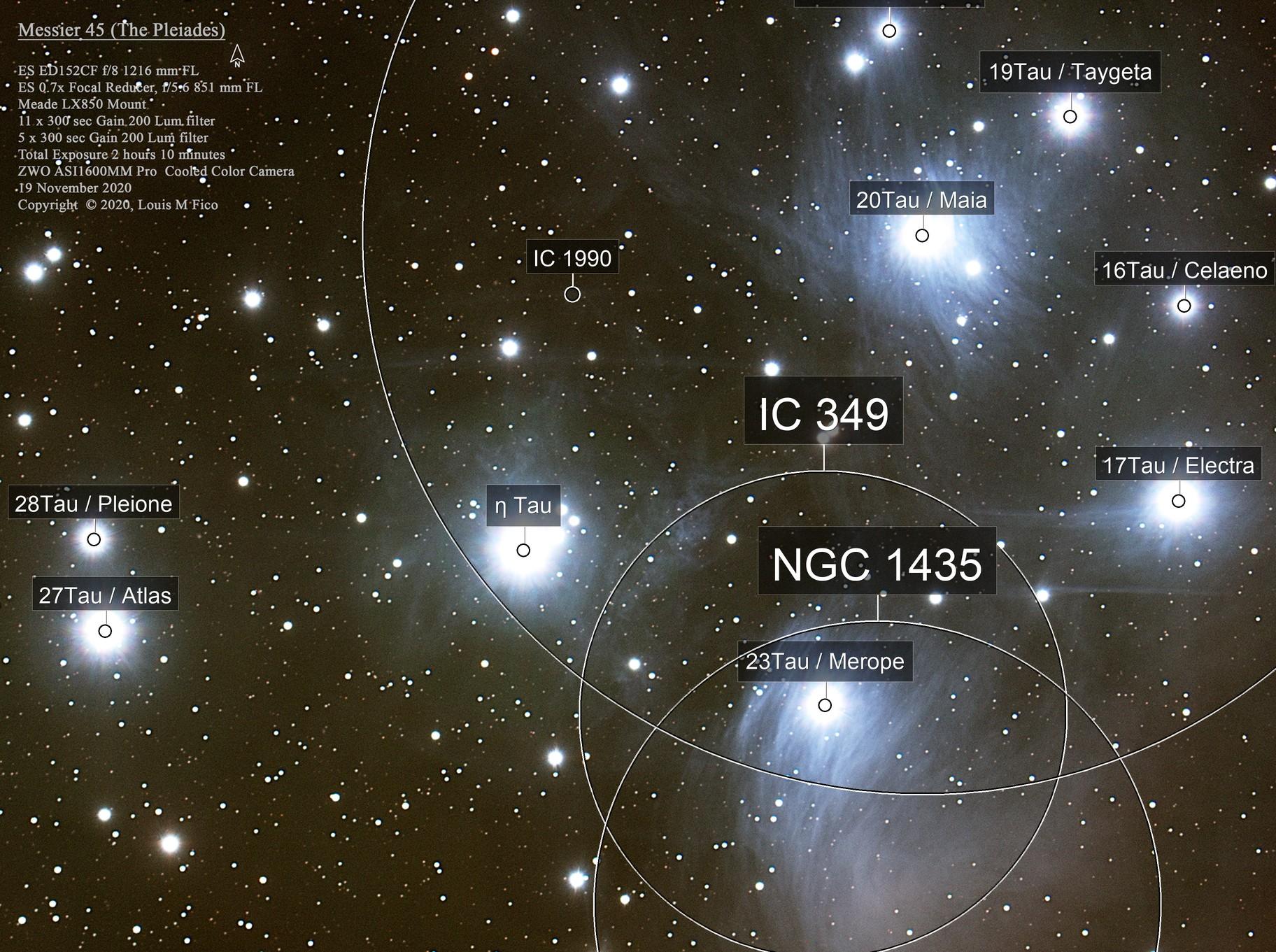 Messier 45 (The Pleiades)