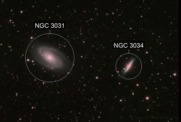M81 & M82 Bode & Cigar galaxy in HaRGB