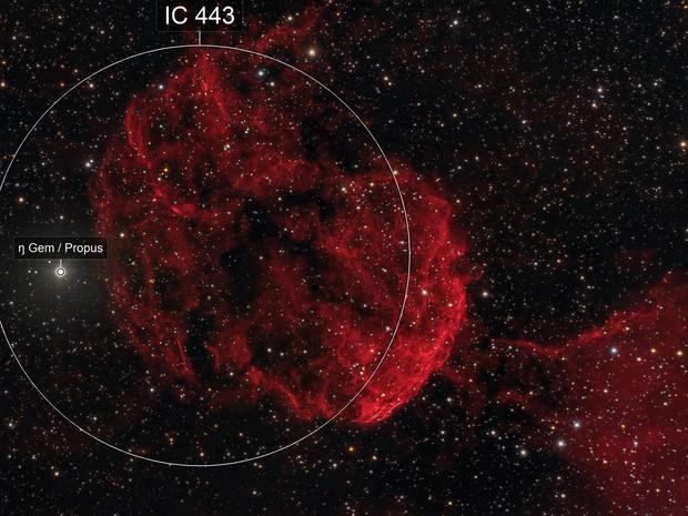 Jellyfish Nebula IC443