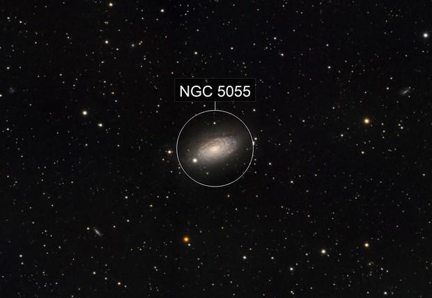 Sunflower Galaxy, M63