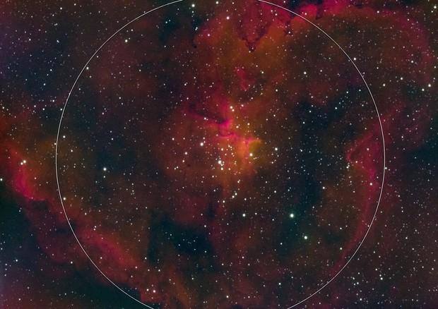 IC 1405 Heart Nebula