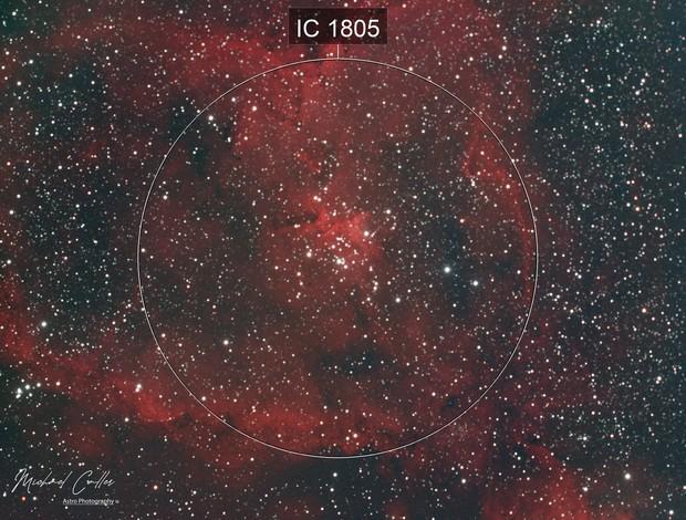 IC1805 Heart Nebula HaRGB
