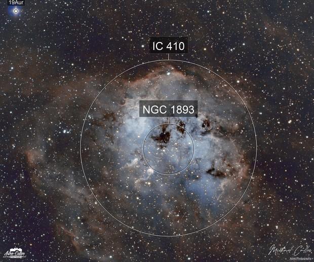 IC410 The Tadpoles SHO