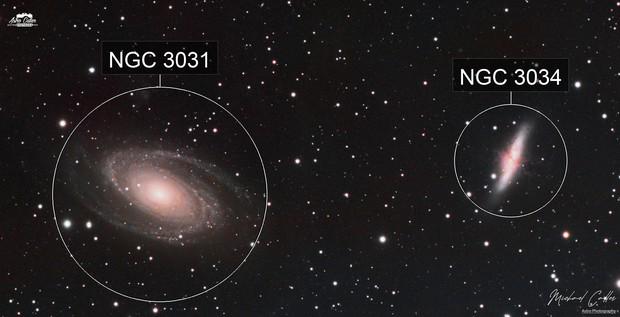 M81 & M82 LRGB