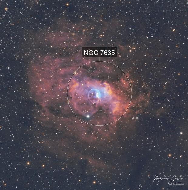 NGC7635 Bubble Nebula SHO