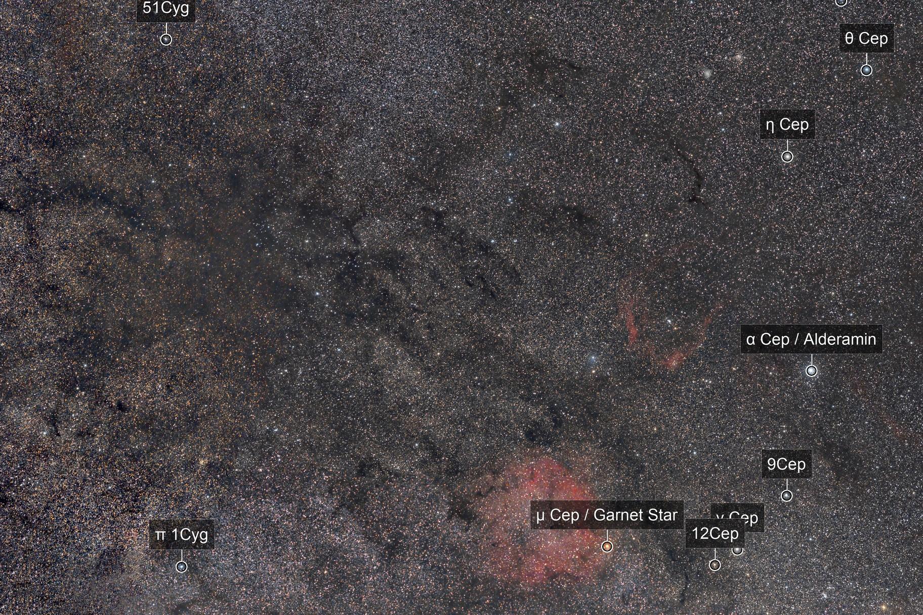 Between Cepheus and Cygnus