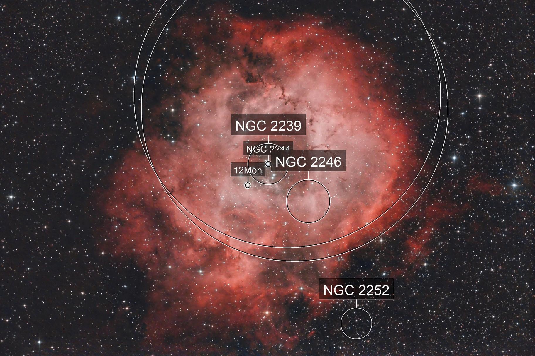 Rosette - NGC2244 - Monoceros