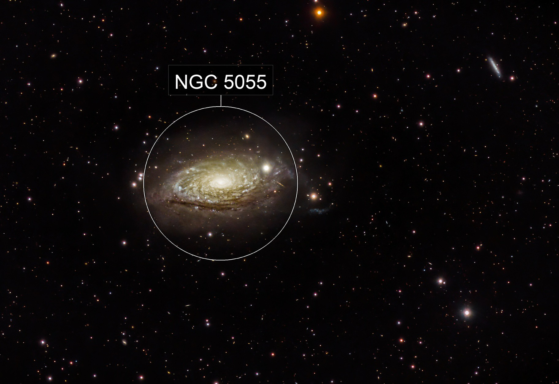M63 The Sunflower Galaxy