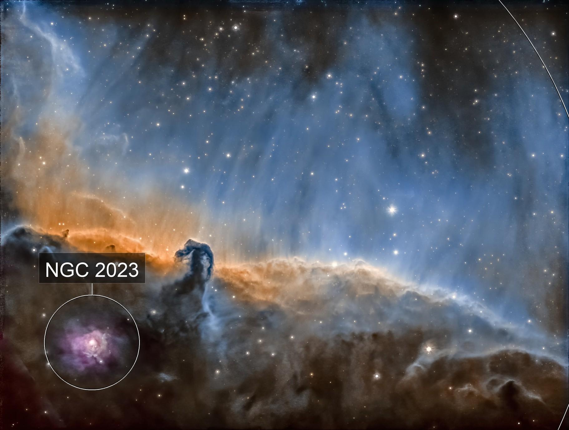 Horse Head Nebula B 33 SHO