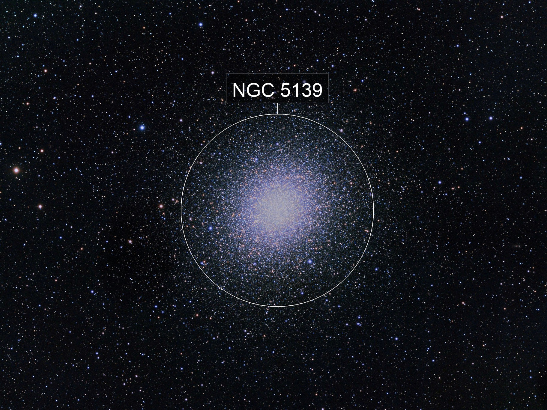 Omega Centauri Cluster