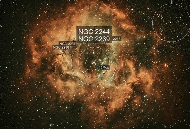 Rosette Nebula NGC2244