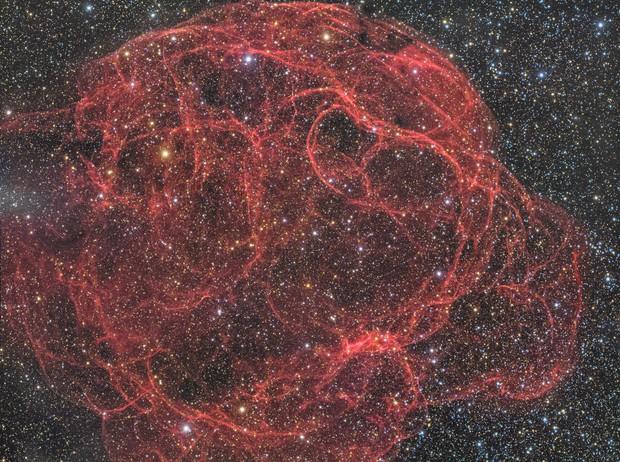 Spaghetti Nebula (Sh-2-240)