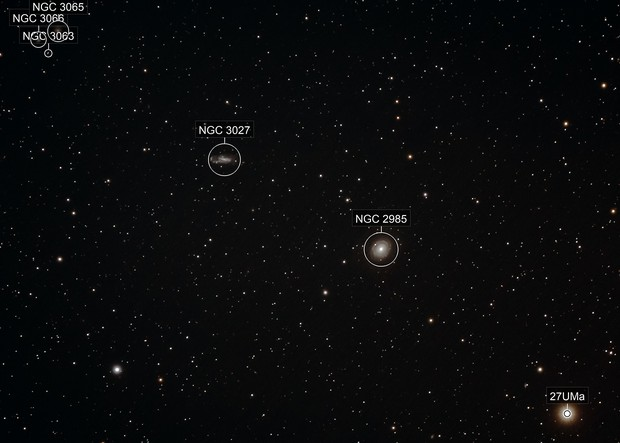 NGC2985 / 3027