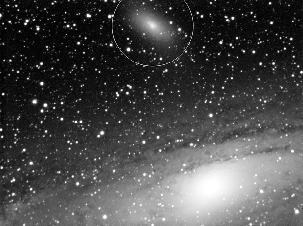 M31 Andromeda & M110 Galaxy