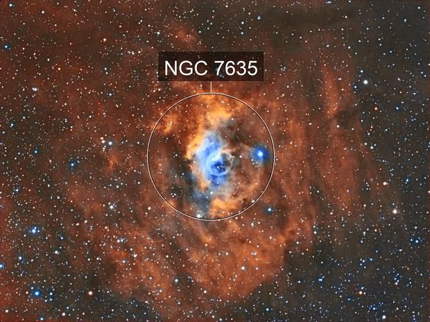 NGC7635 The Bubble Nebula (HST)