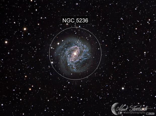 Southern Pinwheel Galaxy (M83)