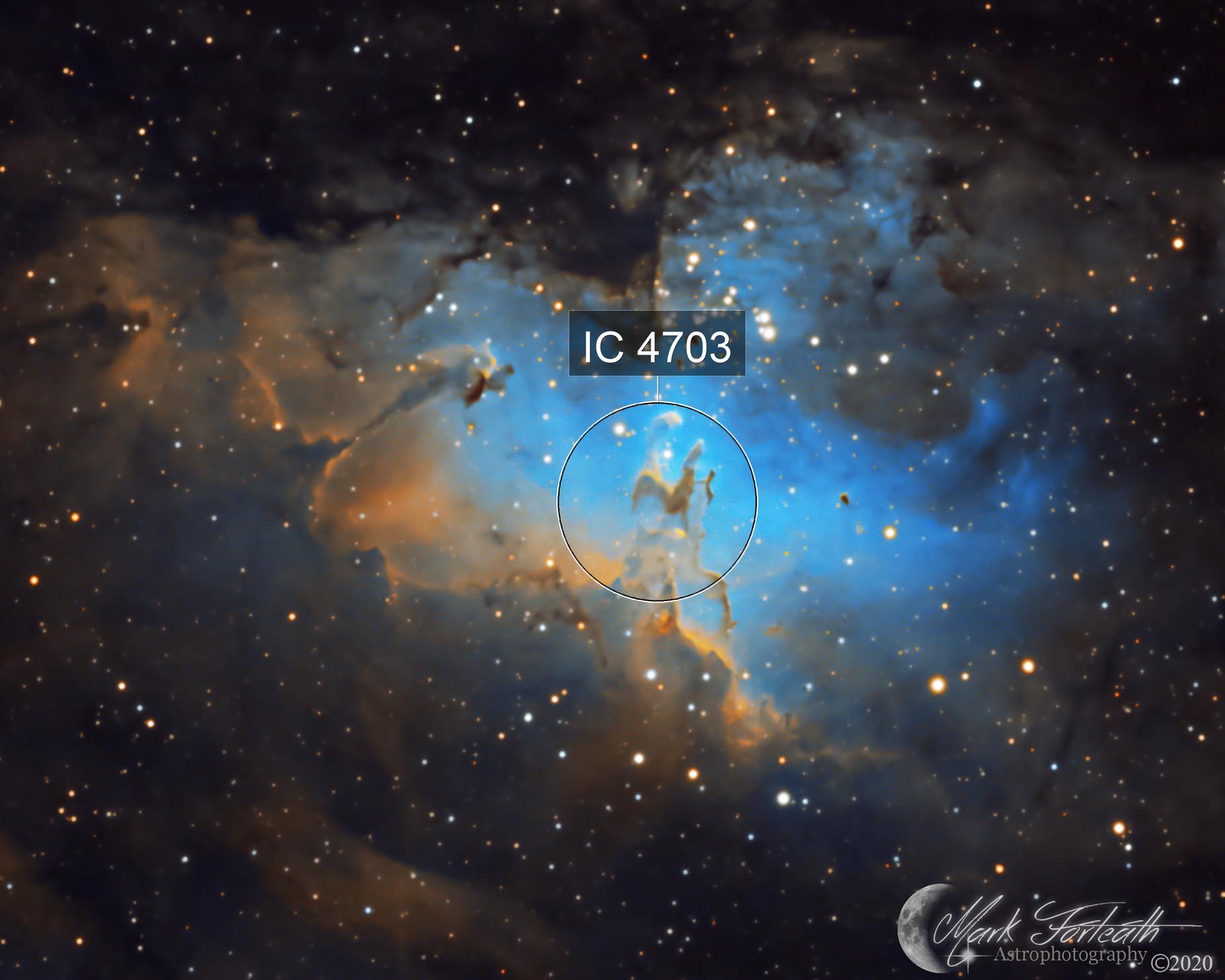 M16 the Eagle Nebula SHO