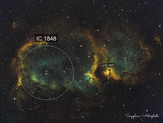 IC1848 :Soul Nebula