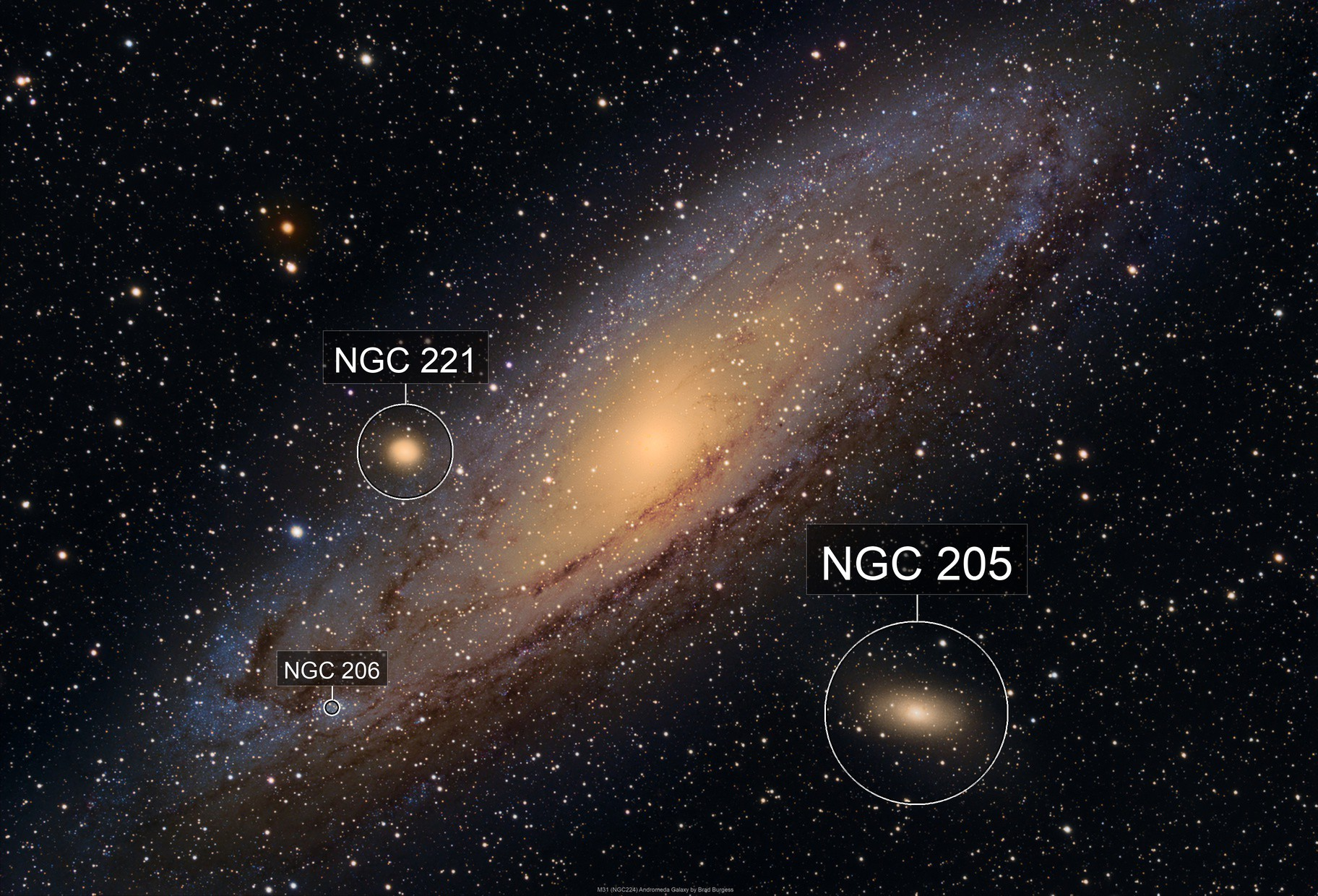M31 (NGC224) Andromeda Galaxy