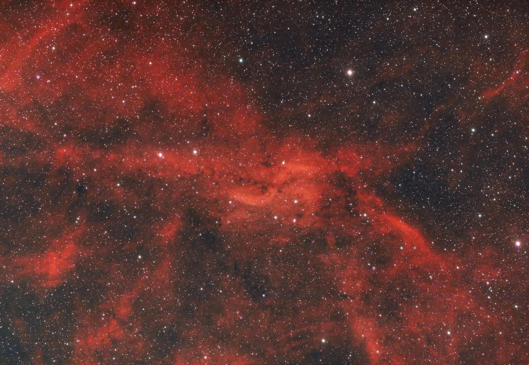 Propeller Nebula (DWB111) in Cygnus