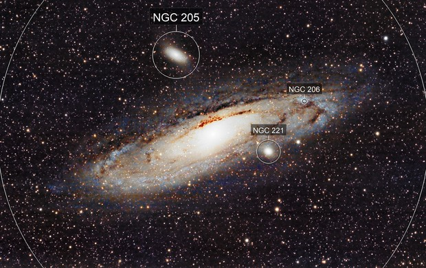 First light of M31 - second image