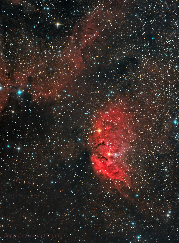 Sh 2-101 Tulip Nebula HaLRGB