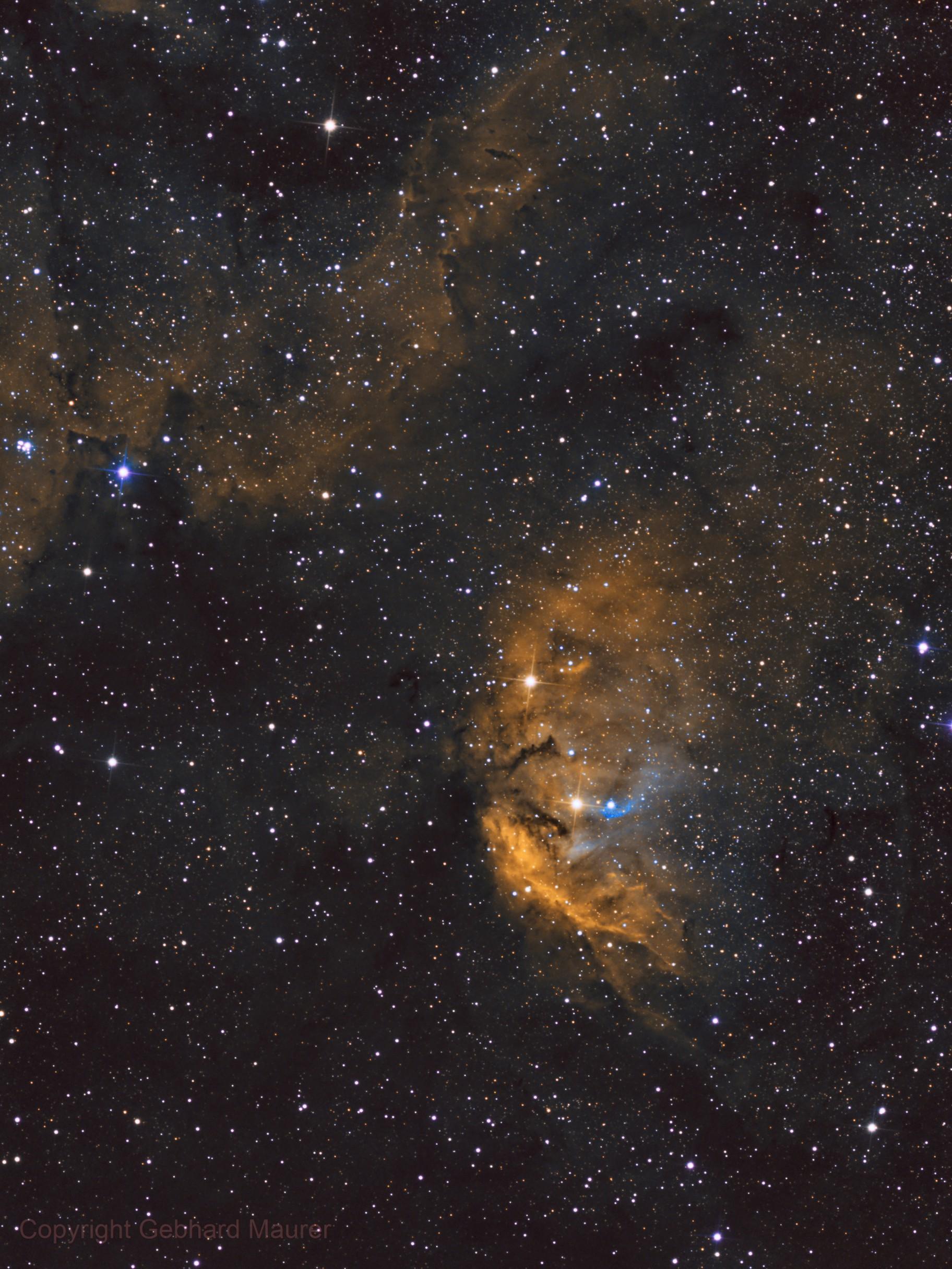 Sh 2-101 Tulip Nebula SHO