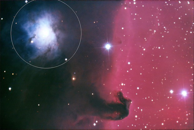 NGC2023 and Horsehead