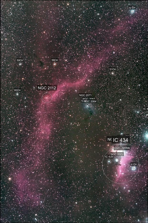 Barnard Loop etc.