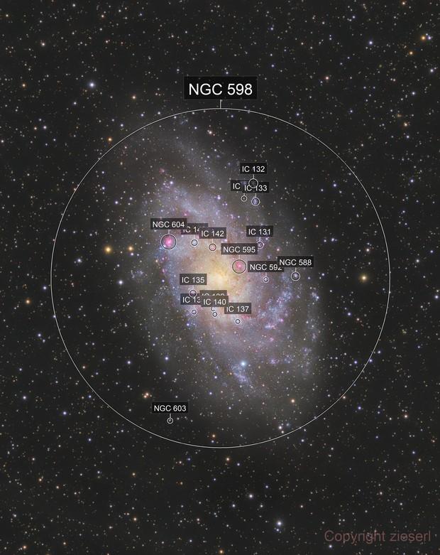 Messier 33  Dreiecksgalaxie
