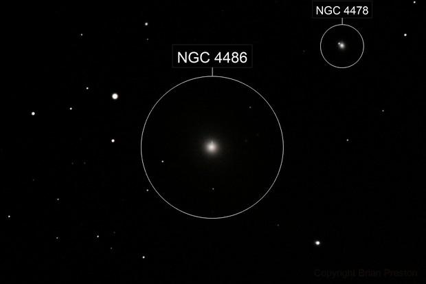 Smoking Gun Galaxy (M87)