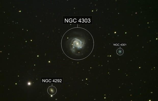 Messier 61 and Supernova SN2020jfo