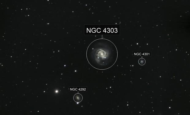 Supernova SN 2020jfo in M61